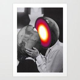 Attraction II (2013) Art Print