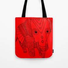 Elephant of the Day Tote Bag