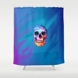 Celestial Skull Shower Curtain