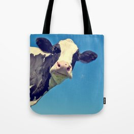 Country Life | Say Hello to Mrs. Cow Tote Bag