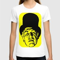 literature T-shirts featuring Outlaws of Literature (Ken Kesey) by Silvio Ledbetter