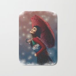 Film Tarot - Amélie as The Fool Bath Mat