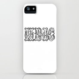 Hbic Vintage Letters iPhone Case