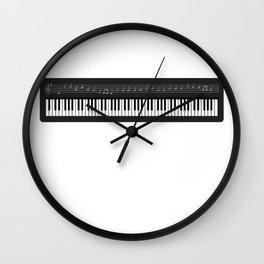 Music Keyboard I Prefer the Keyboardist Wall Clock