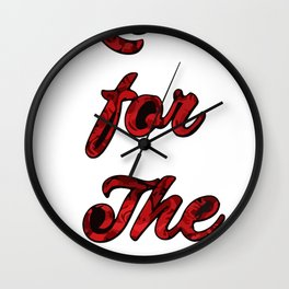 Loveforthestreets Wall Clock