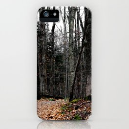 Chasing Autumn iPhone Case