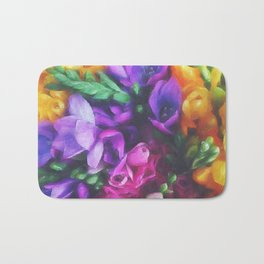 Freesias Bath Mat