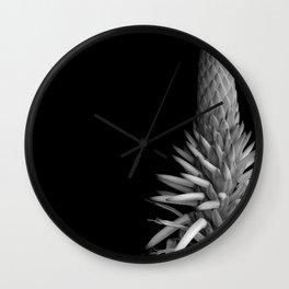 Fire Aloe Wall Clock