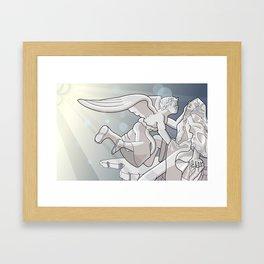 extasy of saint terasa Framed Art Print