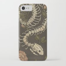 Snake Skeleton iPhone 7 Slim Case