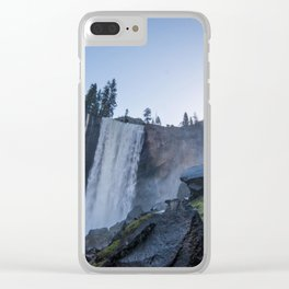 Vernal Falls, Yosemite National Park Clear iPhone Case