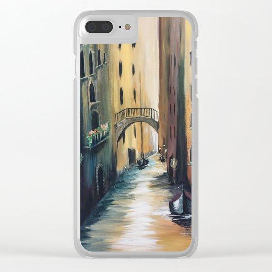 Where My Heart Roams Clear iPhone Case