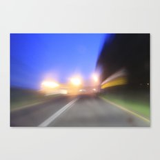 night drive Canvas Print