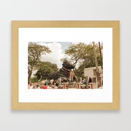 Nandi Framed Art Print