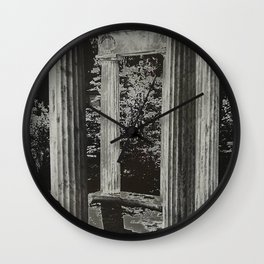 Solar Columns Wall Clock
