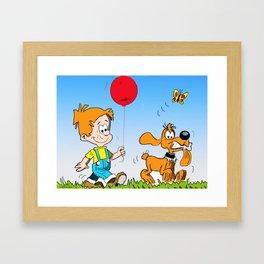 Boule and Bill Framed Art Print