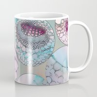 biology Mugs featuring Cell Balls by Klara Acel