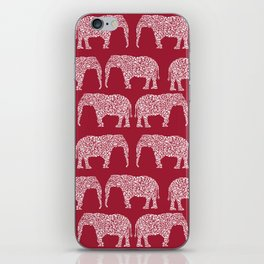 Alabama bama crimson tide elephant state college university pattern footabll iPhone Skin