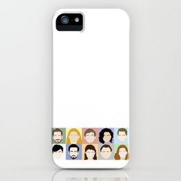 Once Upon A Cast iPhone Case