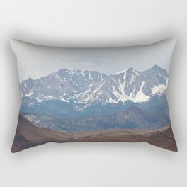 There In The Mountains (Sierra Nevadas, California) Rectangular Pillow
