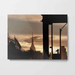 Hunters Point Dusk, 2010 Metal Print