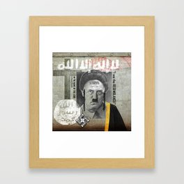 IN THE NAME OF THE LORD Framed Art Print