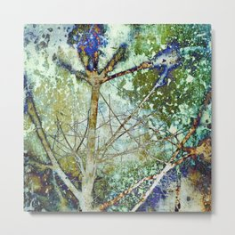 Abstract Winter Tree 818 Metal Print