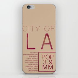 The City of Angels iPhone Skin