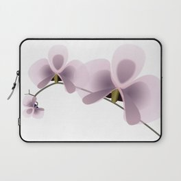 Elegant flowers with artistic effect Laptop Sleeve
