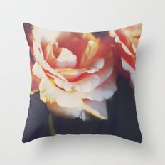 ORANGE FEELINGS Throw Pillow
