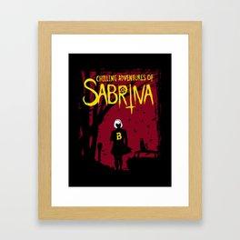 Chilling Adventures Of Sabrina Framed Art Print