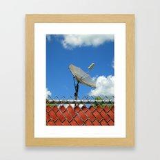 d-fence Framed Art Print