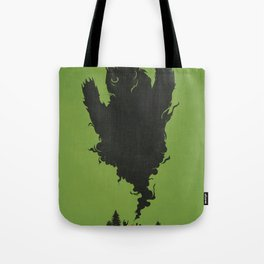 .. and There was Fire in its Eyes Tote Bag
