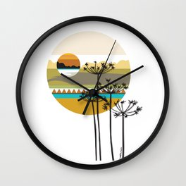 Hunting High And Low Wall Clock