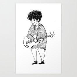 Shoegazer random Art Print