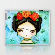 Frida And Her Tears Laptop & iPad Skin