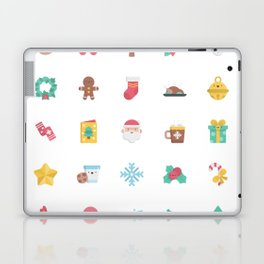 CUTE CHRISTMAS HOLIDAYS WINTER PATTERN Laptop & iPad Skin