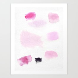 Minimal Color Art Print