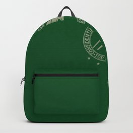 MF Doom - ˢᵗᵉᵛᵉ ᴼⁿ ᵀʰᵉ ᴮᵉᵃᶜʰ Daniel-Dumile - Hip-Hop Green Backpack