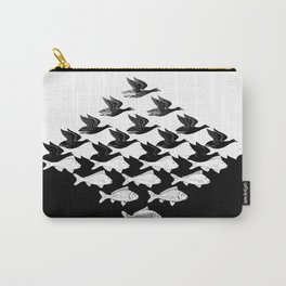 Escher - Sky and Water Carry-All Pouch