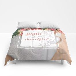 Hello beautiful Comforters