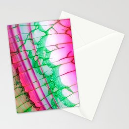 Psychedelic Tie Dye Quartz Stationery Cards