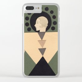 Metropolis Clear iPhone Case