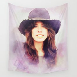 Carly Simon, Music Legend Wall Tapestry