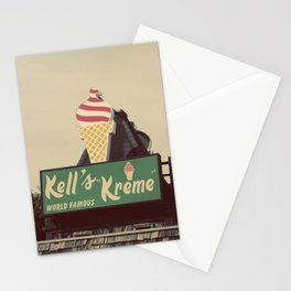 Kell's Kreme World Famous Stationery Cards