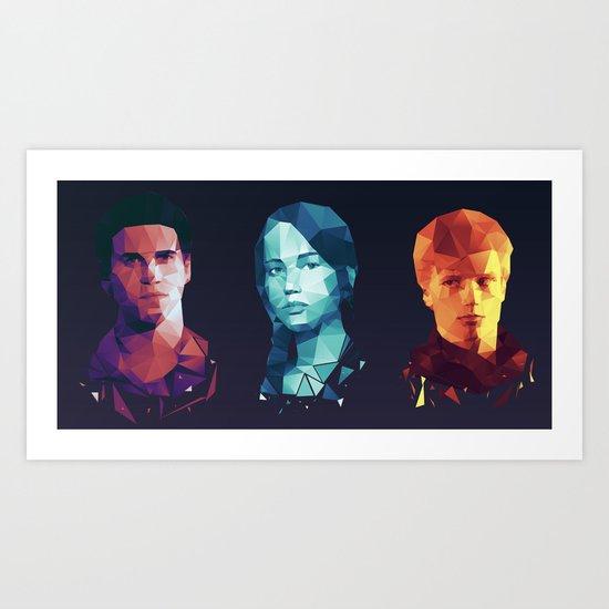 Hunger Games 3 Art Print