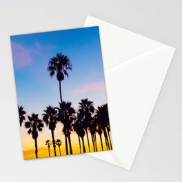 Venice Beach at Sunset Stationery Cards