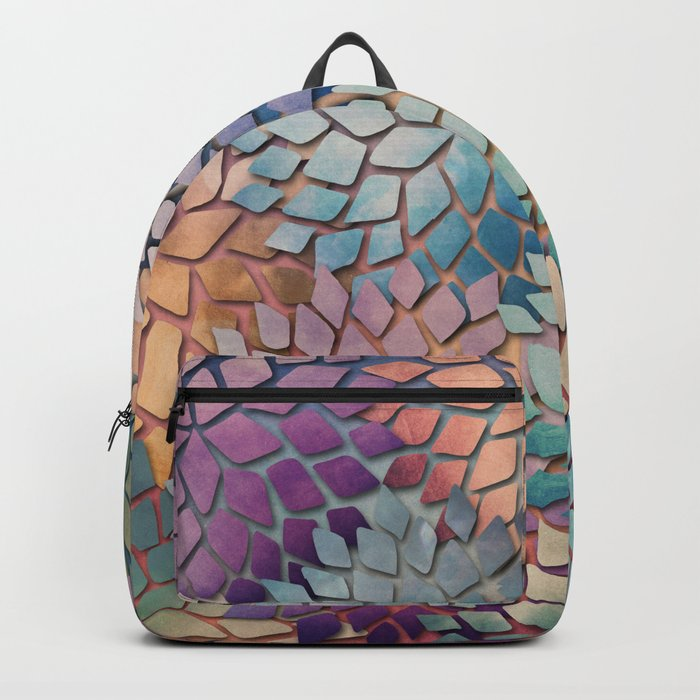 Abstract Floral Petals 4 Backpack