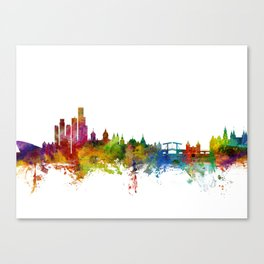 Amsterdam The Netherlands Skyline Canvas Print