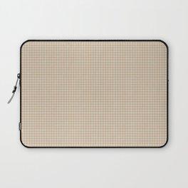 Burly Wood Gingham Laptop Sleeve